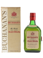 Buchanan's De Luxe Bottled 1970s - Candido Da Silva 75cl / 40%