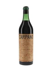 Carpano Vanilchina Vermouth Bottled 1950s 100cl