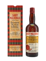 Sandy MacDonald Blended Spring Cap Bottled 1960s - The American Distilling Company Inc. 75.7cl / 43.4%