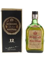 Buchanan's 12 Year Old De Luxe Bottled 1970s 75cl / 43.28%