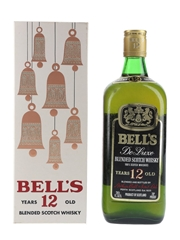 Bell's 12 Year Old De Luxe Bottled 1970s 75.7cl / 40%