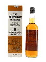 Dufftown Glenlivet 8 Year Old Bottled 1970s 75.7cl / 40%
