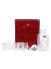 Opera Royal Crystal Rock Decanter & Glasses Royal County Silverware