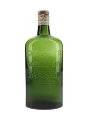 Gordon's Special Dry London Gin Spring Cap Bottled 1950s-1960s - Missing Label 75cl