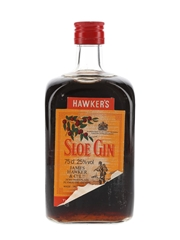 James Hawker's Sloe Gin Bottled 1980s 75cl / 25%