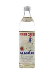 Achata Clauss Ouzo Bottled 1960s-1970s 73cl / 46%