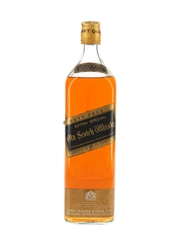 Johnnie Walker Black Label Bottled 1970s - Duty Free 93.75cl