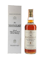 Macallan 8 Year Old Bottled 1980s - Rinaldi 75cl / 43%