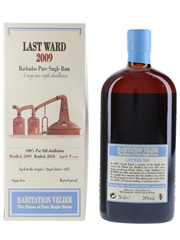 Last Ward 2009 Mount Gay Bottled 2018 - Habitation Velier 70cl / 59%