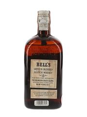 Bell's 12 Year Old Royal Vat Bottled 1940s - Heublein & Bros 75.7cl / 43%