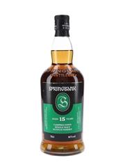 Springbank 15 Year Old Bottled 2020 70cl / 46%