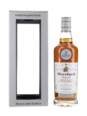 Mortlach 25 Year Old Distillery Labels Bottled 2018 - Gordon & MacPhail 70cl / 43%