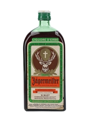 Jagermeister Bottled 1970s - Italy 75cl / 35%