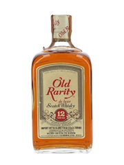 Old Rarity 12 Year Old De Luxe