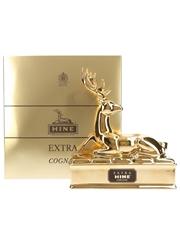 Hine Extra Golden Stag Bernardaud Limoges Porcelain Decanter 70cl / 40%