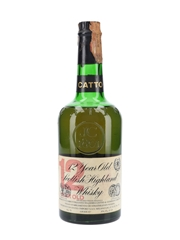 Catto 12 Year Old Bottled 1970s - Dateo 75cl / 43%