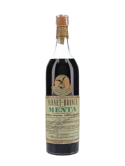 Fernet Branca Alla Menta Bottled 1968 100cl / 40%