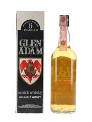 Glen Adam 5 Year Old Bottled 1980s - Landy Freres 75cl / 40%