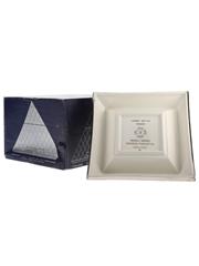 Chateau Paulet Napoleon Cognac Pyramide Silver Porcelain Decanter 70cl / 40%