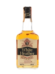 White Heather 5 Year Old Bottled 1980s - Rinaldi 75cl / 40%