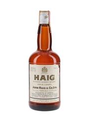 Haig's Gold Label Bottled 1970s - Sacco 75cl / 40%