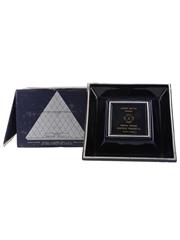 Chateau Paulet Napoleon Cognac Pyramide Blue Porcelain Decanter 70cl / 40%