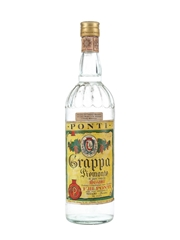 Ponti Grappa Piemonte Bottled 1960s 100cl / 40%