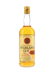 Highland Clan Special Reserve Bottled 1980s - Sispa 75cl / 40%