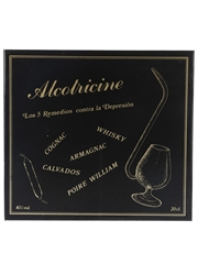 Alcotricine The Five Cures Against Depression Ampoules Tasting Set With Port Pipe Glass - Spanish Edition 10 x 2cl / 40%