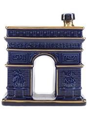 Hine Napoleon Arc De Triomphe Bottled 1980s - Artoria Porcelain Decanter 70cl