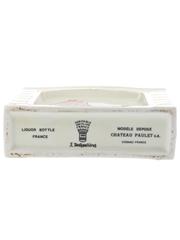 Chateau Paulet Bottled 1980s - Veritable Porcelain Decanter 70cl / 40%