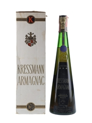 Kressmann 3 Star Armagnac Bottled 1960-1970s 75cl / 40%