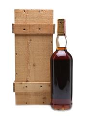 Macallan 1958-59 Anniversary Malt 25 Year Old- Giovinetti 75cl / 43%