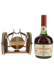 Courvoisier 3 Star Luxe Cannon Bottled 1980s 68cl / 40%
