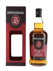 Springbank 12 Year Old Cask Strength  70cl / 55.3%