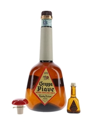 Landy Freres Grappa Piave Bottled 1970s - Miniature & Large Format 5cl & 150cl / 42%