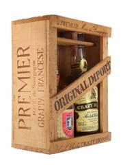 Crazy Horse Finest Rare & Premier Marc de Bourgogne Bottled 1970s 2 x 75cl