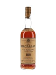 Macallan 1970 18 Year Old Bottled 1988 - Premiere Wine Merchants Import 75cl / 43%
