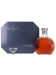 Chateau Paulet Lalique Crystal Decanter 75cl / 43%