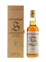 Springbank 45 Year Old