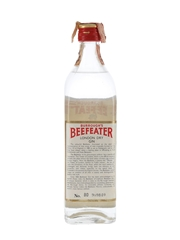 Burrough's Beefeater London Dry Gin Bottled 1970s - Silva 75cl / 47%