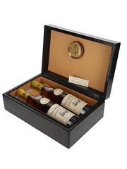 Chateau De Laubade VSOP Bottled 1988 - Leather Cigar Box 2 x 70cl / 40%