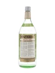 Bacardi Silver Label Bottled 1980 - Puerto Rico 113cl / 40%