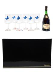 Marquis De Caussade Reserve Glasses Set 70cl / 40%