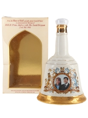Bell's Ceramic Decanter Royal Wedding 1986 - Prince Andrew & Sarah Ferguson 75cl / 43%