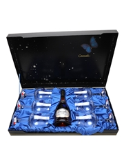 Marquis De Caussade VSOP Glasses Set 70cl / 40%