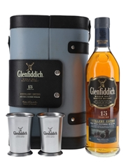 Glenfiddich 15 Year Old With Metal Cups Distillery Edition 70cl / 51%