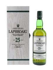 Laphroaig 25 Year Old Bottled 2017 70cl / 48.9%