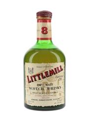 Littlemill 8 Year Old Bottled 1970s-1980s 75cl / 43%