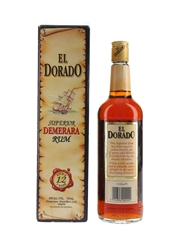 El Dorado Demerara Rum 12 Year Old Bottled 1980s 75cl / 40%